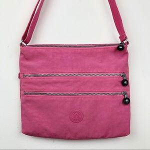 Kipling Alvar Pink Crossbody Bag